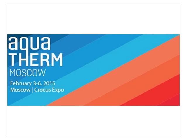 """2015 выставка Aqua Therm Moscow ( """"Акватерм Москва"""")"""