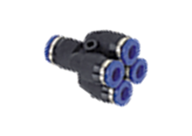 MODEL PH-GXP PUSH IN DOUBLE Y TYPE FITTING