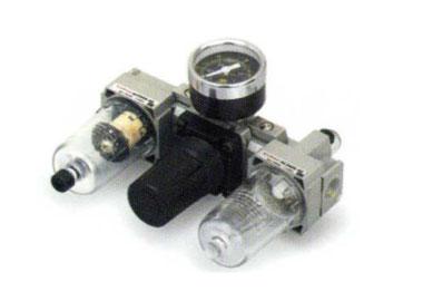 MODEL P-AC2 SEMI AUTOMATIC AIR FILTER COMBINATION (F+R+L+m)