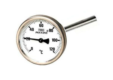 MODEL P-CDT Ø100 / 160 MM. DIRECT CONNECTION THERMOMETERS WITH QUICK SILVER FILLING