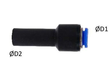 MODEL PN-JGP STRAIGHT PLUG IN REDUCER FITTING