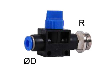 MODEL PNBGCSJ PNEUMATIC UNION STRAIGHT BALL VALVE ,THREADED 2/2 3/2 TYPE HAND VALVE