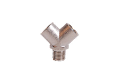 MODEL PU0006 Y SHAPE FITTING WITH MALE INLET AND FEMALE OUTLET