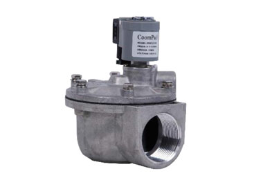 MODEL P-RMF RIGHT ANGLE SOLENOID PULSE VALVE